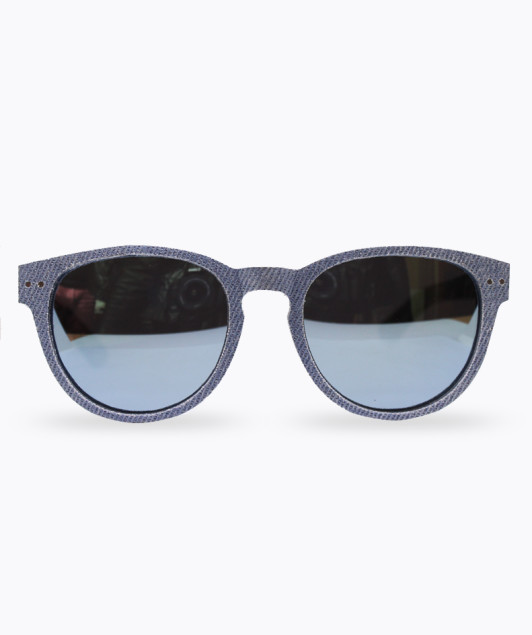 Wooden sunglasses jeans cloth, Wooden sunglasses, occhiali in legno rivestimento jeans,