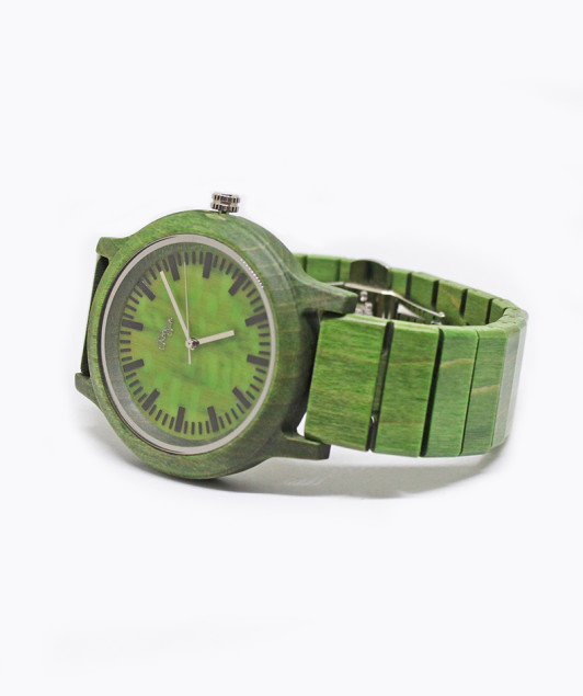 Leaf Watch // Orologio in legno Eclipse; wood watch, orologio in legno