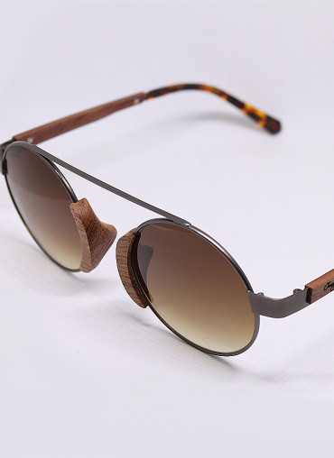 Wooden and bamboo sunglasses