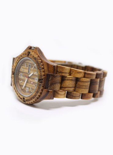 Route Watch // Orologio in legno Eclipse; wood watch, orologio in legno