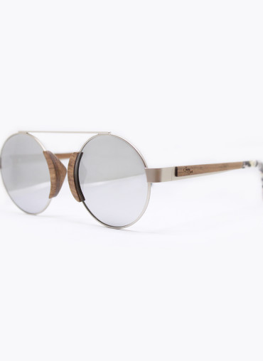 Wooden and bamboo sunglasses occhiali in legno e bambu